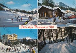 CARTOLINA  PASSO DELLA PRESOLANA M.1286,BERGAMO,LOMBARDIA,PREALPI BERGAMASCHE,MONTAGNA,BELLA ITALIA,VIAGGIATA 1980 - Bergamo