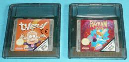 Lot 2 Jeux De Console GAME BOY Color Nintendo, Titeuf & Rayman, Sans Boite Ni Notice Retro Gaming Retrogaming Gameboy - Nintendo Game Boy