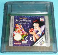 Jeu Console GAME BOY Color Nintendo, Snow White & 7 Les Nains, Sans Boite Ni Notice Retro Gaming Retrogaming Gameboy - Nintendo Game Boy