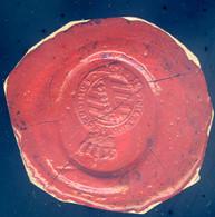 Sceau Cachet De Cire Allemagne Vigilando Ascendimus -- Saxe Weimar Ordre Du Faucon Blanc  Cachet4 - Vorphilatelie