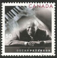 Canada Music Musique Piano Oscar Pertersen Mint No Gum (5-002) - Musica