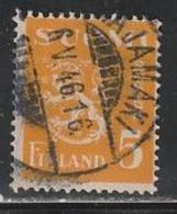 FINLANDE 390 // YVERT 294  // 1945 - Gebraucht