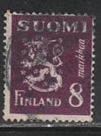 FINLANDE 391 // YVERT 299  // 1945 - Gebraucht