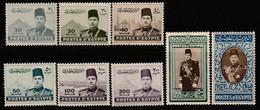 EGYPTE - N°213/9 ** (1939-45) Farouk 1er - Unused Stamps