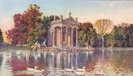 AK Roma - Villa Umberto - Giardini Del Lago - Tempietto (58066) - Parchi & Giardini