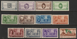 EGYPTE - N°238/49 ** (1946) Année Complète 1946 - Unused Stamps