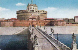 AK Roma - Ponte E Castel Sant' Angelo (58067) - Altri Monumenti, Edifici