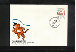 South Korea 1988 Olympic Games Seoul - Athletics Interesting Cover - Estate 1988: Seul