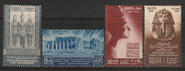 EGYPTE - N°250/3 ** (1947) Art Contemporain - Unused Stamps