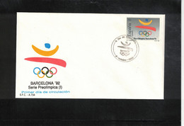 Spain 1988 Olympic Games Barcelona Interesting Cover - Estate 1992: Barcellona