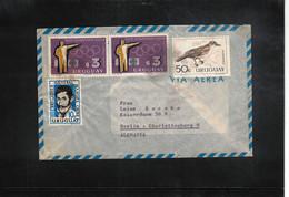 Uruguay 1968 Olympic Games Tokyo Interesting Airmail Letter - Estate 1964: Tokio