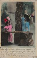 FANTAISIE - Couple D'Enfants (publicité A La Tour St Jacques GMH Henri ESDERS) - Taferelen En Landschappen