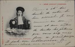 FANTAISIE - Bébé Avocat D'Assises (lot De 2 Cartes) - Taferelen En Landschappen