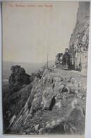CPA Asie Ceylan Sri Lanka - The Railway Incline Near Kandy - Chemin De Fer Train 1910 - Ceylon - Sri Lanka (Ceylon)