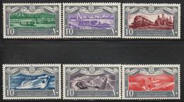 EGYPTE - N°449/454 ** (1959) Transports - Ungebraucht