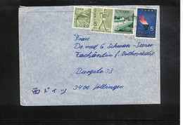 Japan Olympic Games Tokyo Interesting Letter - Estate 1964: Tokio