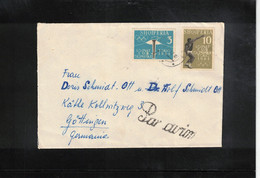 Albania 1962 Olympic Games Tokyo Interesting Airmail Letter - Estate 1964: Tokio