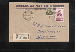 Italia / Italy 1960 Olympic Games Rome  Interesting Registered Letter - Estate 1960: Roma