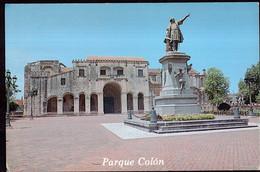 Republica Dominicana - Circa 1980 - Carte Postale - Santo Domingo - Parque Colon Y Catedral Santa Maria La Menor - A1RR2 - Repubblica Dominicana