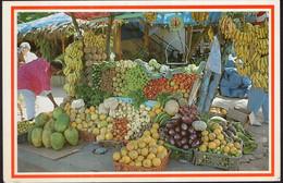 Republica Dominicana - Circa 1980 - Carte Postale - Santo Domingo - Mercado Tipico De Frutas Y Vegetales - A1RR2 - Repubblica Dominicana