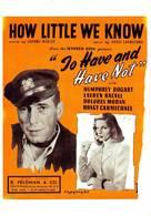 Humphrey Bogart Lauren Bacall - Acteurs