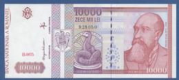 ROMANIA - P.105 – 10.000 LEI  2-1992 CUT - See Photos Serie B.0075 928050 - Romania