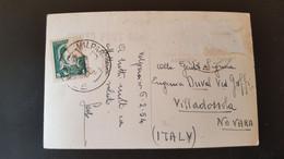 Valparaiso - Sent To Villadossola Italy - Cile