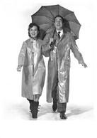 Gene Kelly Debbie Reynolds Chantons Sous La Pluie Parapluie 1848 Hazan - Acteurs