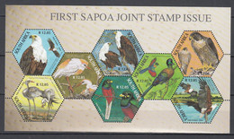 South Africa 2004,8V In Block,birds,vogels,oiseaux,vögel,pajaros,uccelli MNH/Postfris(L3694) - Pájaros Cantores (Passeri)