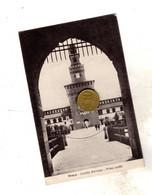 MILANO CASTELLO SFORZESCO  Viaggiata 1926 - Milano