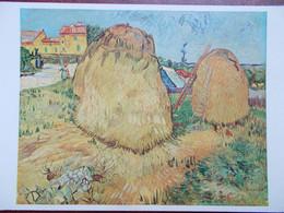 ARTS - PEINTURE - Vincent VAN GOGH - Haystacks In Provence. (Meules De Foin) - Pittura & Quadri
