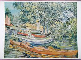 ARTS - PEINTURE - Vincent VAN GOGH - Rowing Boats At Auvers. (Barques à Auvers) - Pittura & Quadri