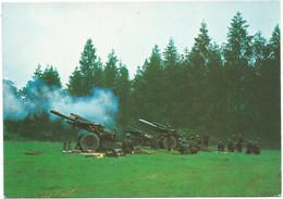 AA2835/37 Esercito Italiano - Artiglieria Pesante Campale Obice Da 155/23 / Non Viaggiata - Altri