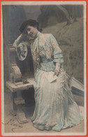 Pin-Ups - 1904 - 5c Helvetia - A Colori - Viaggiata Da Genève Per Lavey-Village, Saint-Maurice - Pin-Ups