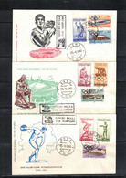 Italia / Italy 1960 Olympic Games Rome FDC - Estate 1960: Roma