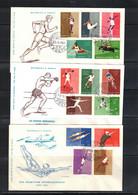 San Marino 1960 Olympic Games Rome FDC - Estate 1960: Roma