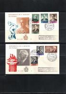 San Marino 1959 International Olympic Committee FDC - Altri