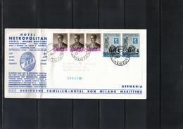 San Marino 1960 International Olympic Committee Interesting Cover - Altri