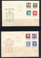 Yugoslavia / Jugoslawien 1960 Olympic Games Rome FDC - Estate 1960: Roma