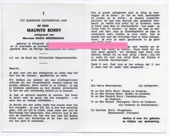 Borry Maurits Meersseman Maria Bruggeman Dieusaert Hooglede - Religione & Esoterismo