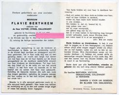 Berthrem Flavie Callewaert Victor Viktoor Debusschere Vervenne Koolskamp - Religione & Esoterismo