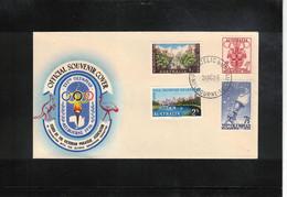 Australia 1956 Olympic Games Melbourne  FDC - Estate 1956: Melbourne