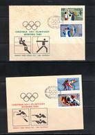 Poland / Polska 1980 Olympic Games Moscow FDC - Estate 1980: Mosca