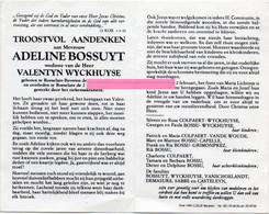 Bossuyt Adeline Wyckhuyse Valentyn Vanschoelandt Demasure Sabbe Casteleyn - Religione & Esoterismo