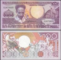 SURINAM - SURINAME 100 Gulden 1986 UNC Pick 133a  (12975 - Andere - Amerika