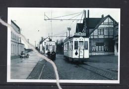 PHOTO MODERNE TRAM DEVANT LE RESTAURANT DU CHALET RIXENSART MOTRICES 10062 10440 - Tranvía