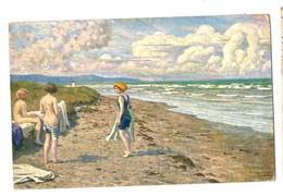 Fischer, Paul - Badeliv Ved Stranden - Autres Illustrateurs