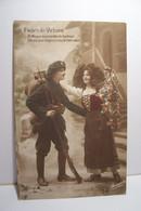 ALSACE - MILITARIA ( CHASSEUR ALPIN ) - FLEURS De VICTOIRE  - A L'Alsace Vous Rendez Le Bonheur - Patriottiche