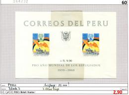 Peru 1960 - Michel Block 3 - ** Mnh Neuf Postfris - Pérou