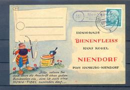 GERMANY 1957 POSTAL CARD  CIRCULED - Briefe U. Dokumente